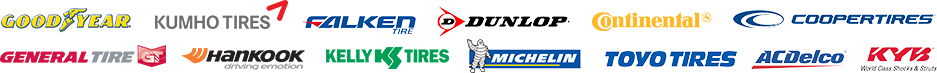 Tire Brands in Staten Island NY, Brooklyn NY, and Manhattan NY at New York Tire Company and Service Center